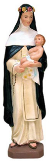 St. Rose of Lima Statue