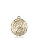 St. Sarah Necklace Solid Gold