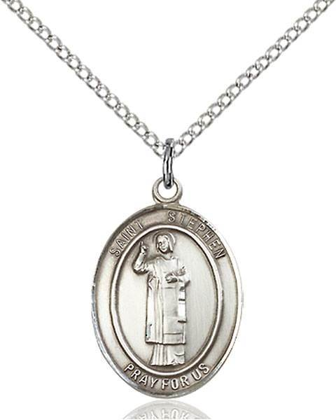 St. Stephen The Martyr Patron Saint Necklace