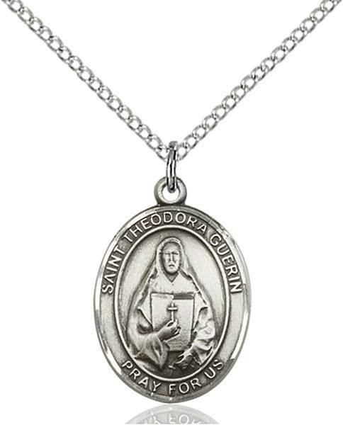 St. Theodore Guerin Patron Saint Necklace