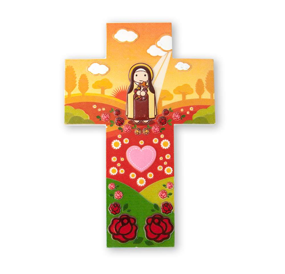 St. Therese Wall Cross