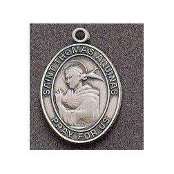 St. Thomas Oval Medal on Chain
