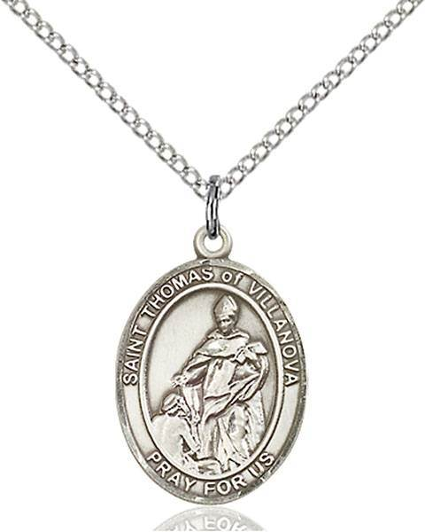 St. Thomas of Villanova Patron Saint Necklace