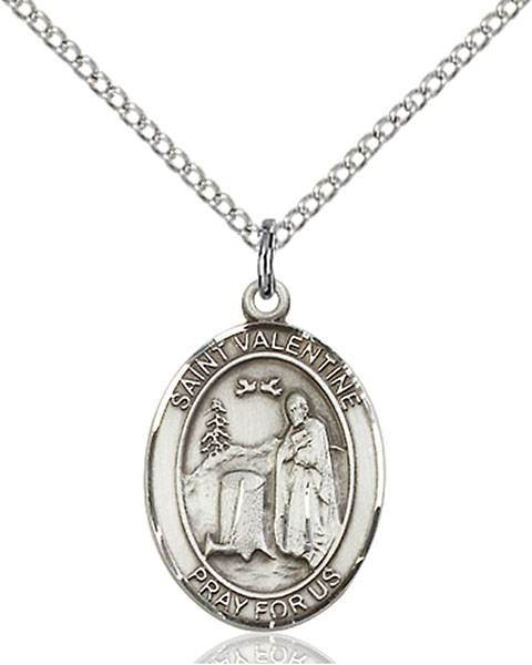 St. Valentine of Rome Patron Saint Necklace