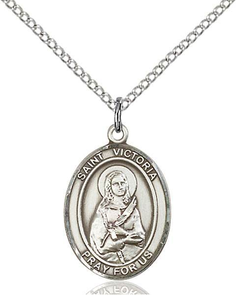 St. Victoria Patron Saint Necklace