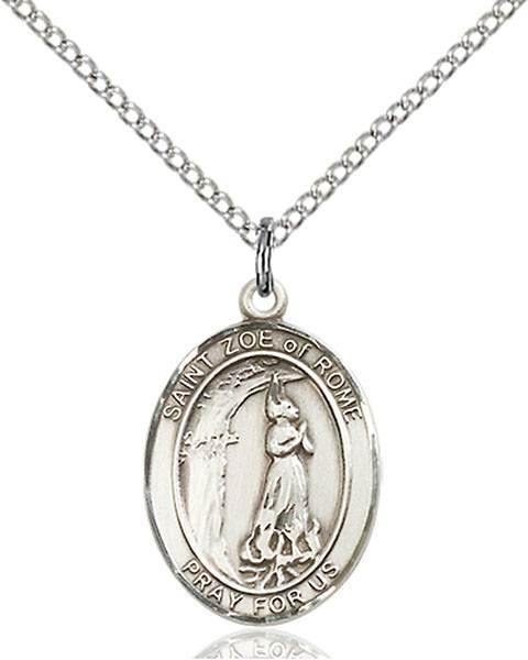 St. Zoe of Rome Patron Saint Necklace