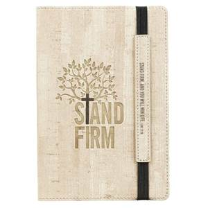 Stand Firm Journal with Elastic Closure