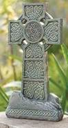 Standing Irish Garden Cross