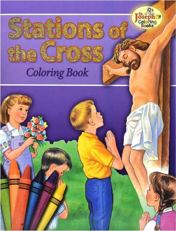 Stations Of The Cross Color Bk