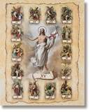 Stations Of The Cross Poster 19 X 27""