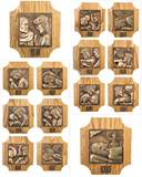 59STA12 Stations of the Cross, Set of 14