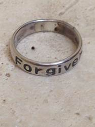 Sterling Silver Forgiven Ring