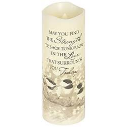 Strength LED Candle