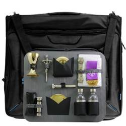 Suitor Hanging Travel Garment Bag Mass Kit Made In Italy