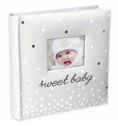"Photo Album Baby First Year Memories Book Record Picture Organizer Keepsake ?Holds 160 4"" x 6"" photos"