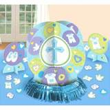 Sweet Christening Blue Table Decoration Kit