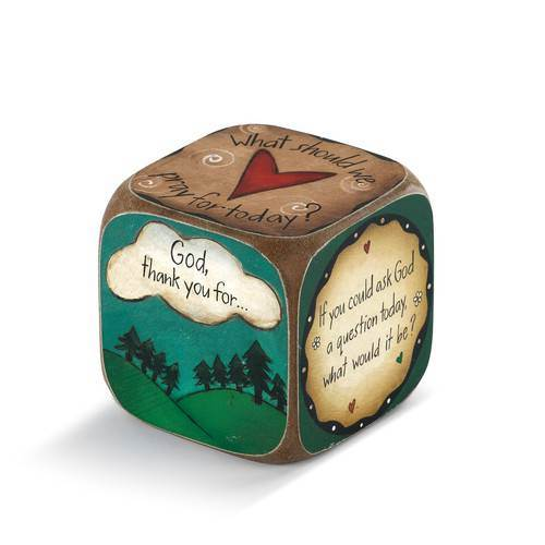 Sweet Table Prayer Conversation Dice