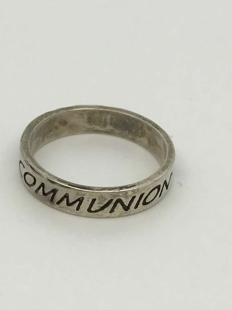 Sz 5 Sterling 1St Comm Ring