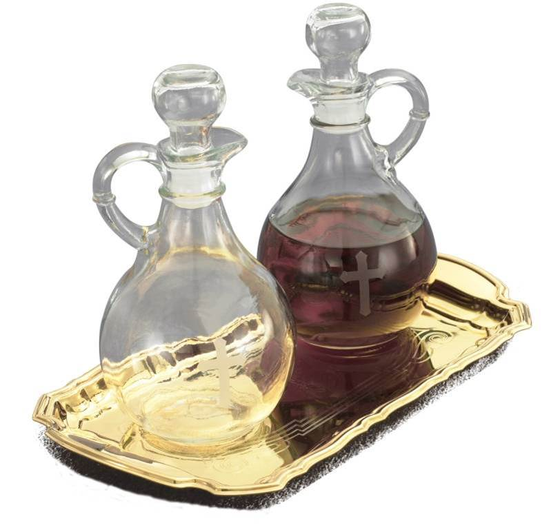 T-86G Cruet Set with Tray