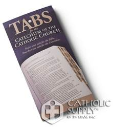 Tabs for the Catechism of the Catholic Church These handy tabs give quick and easy reference to the teachings of the Church on 25 topics and include a subject index.