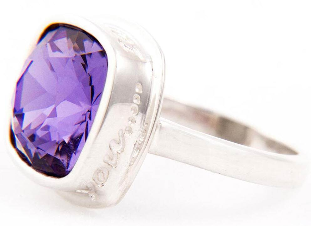 Tanzanite I Am Always With You Ring*WHILE SUPPLIES LAST* sterling silver ring, silver ring, trendy ring, blue crystal, message ring, jewelry,tanzanite ring, 04447, 04448,04449,04450,04451
