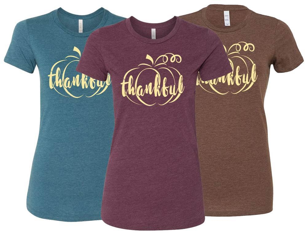 Thankful Ladies Fall Super Soft TShirt