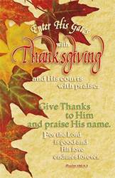 Thanksgiving Bulletin