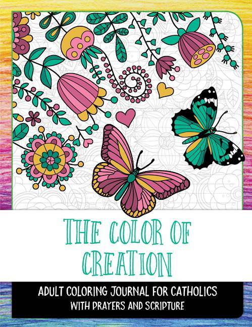 The Color of Creation Adult Coloring Book