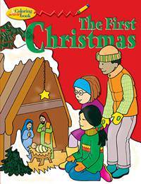 First Christmas Coloring Book