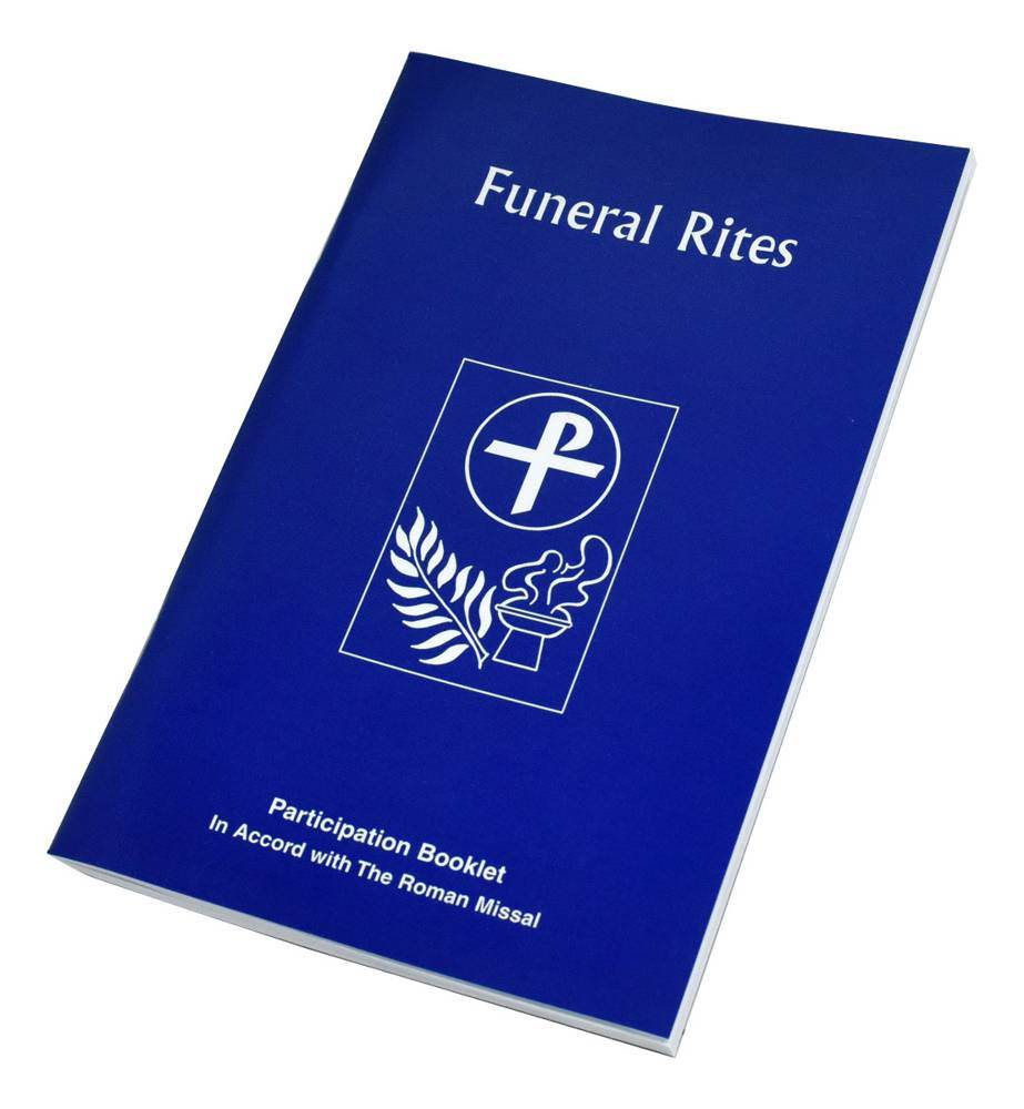 The Funeral Rites Participation Booklet // Pb Blue