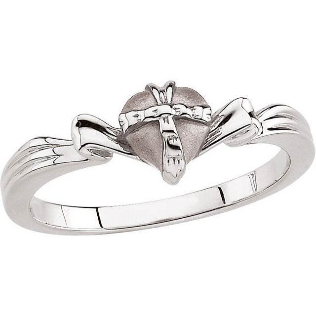 The Gift Wrapped Heart® Purity Ring purity ring, true love waits, chastity ring,