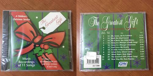 The Greatest Gift CD
