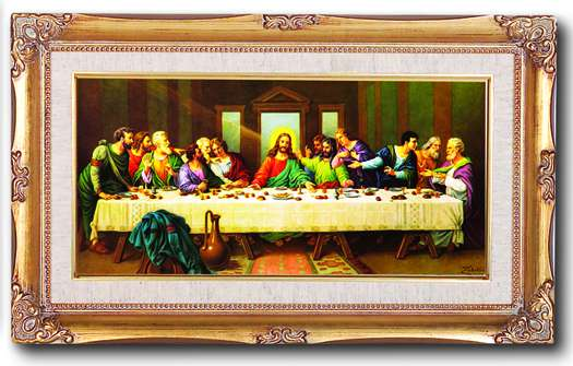 The Last Supper Framed Picture