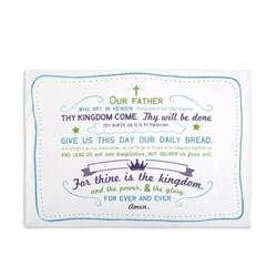 The Lords Prayer Pillowcase