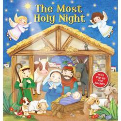 The Most Holy Night w/Pop-Up and Stickers