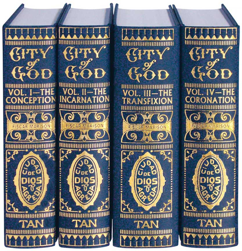 The Mystical City of God (4 Volume Set)