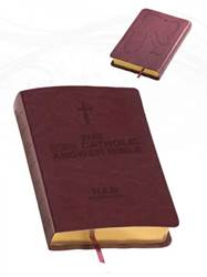 The NEW Catholic Answer Bible Librosario NABRE (Burgundy) LARGE PRINT