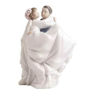 The Perfect Day, Wedding Figurine wedding gift, figurine, wedding figurine, couple figurine, lladro nao figurine, shower gift, cake topper,