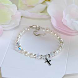 The Perfect First Communion Bracelet