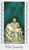 The Pieta Mass Card Deceased 100/Box