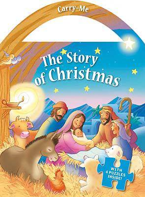 The Story of Christmas: Carry-Me Puzzle Book