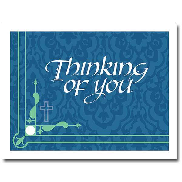 Thinking of You Notecards, Pkg/12