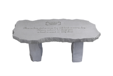 Those We Love Large Personalized Memorial Bench