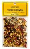Three Crowns Incense 1/2 oz.
