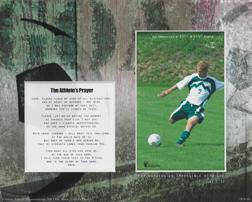 Treasured Memories Photo Mat-Soccer