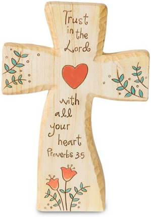 Trust in the Lord Standing Cross