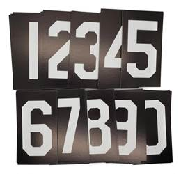 "Ts10028E 4"" Numerals Set Of 60"