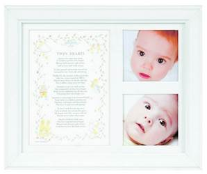 Twin Hearts 8 X 10 Photo Frame