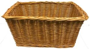 "Unlined 9"" X 13"" X 4""Rectangular Collection Basket"