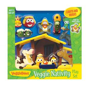 Veggie Tales Nativity Set